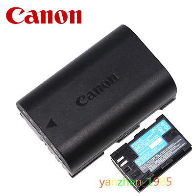 Original Canon LP-E6 Battery For Canon EOS 5D4 5D3 60D 6D 7D 70D 80D 5DSR Camera