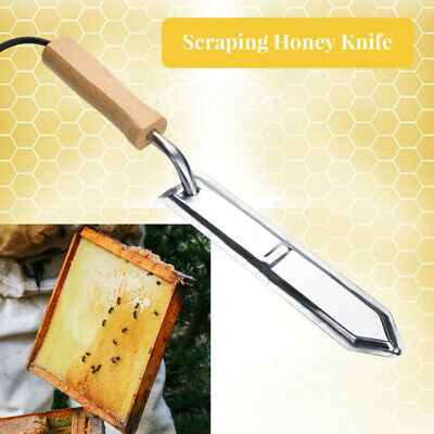 Electric Uncapping Knife Bee Beekeeping Honey Stainless Steel Cutter Tool Strict