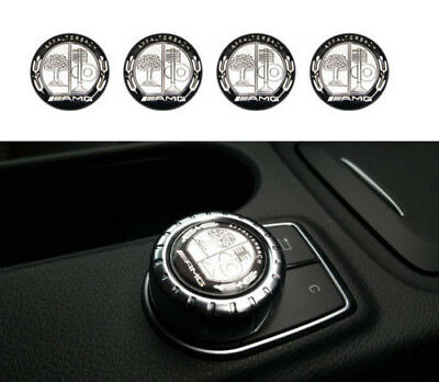 5x Logo AMG Affalterbach Multimedia 29mm pour Mercedes Emblem aufkleber badge