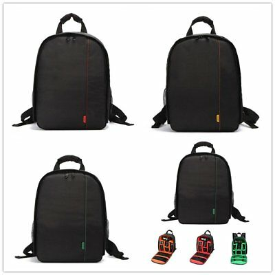 DSLR Outdoor Waterproof Camera Backpack Shoulder Bag Case For Canon Nikon LOT GH