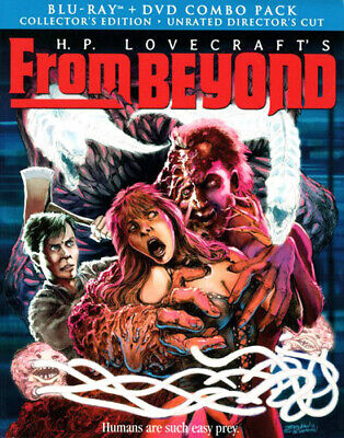 From Beyond (1986 Jeffrey Combs) (2 Disc + DVD Collectors Directors) BLU-RAY NEW