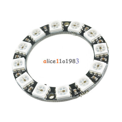 WS2812B Anillo Ring 12 LED RGB Cascadable