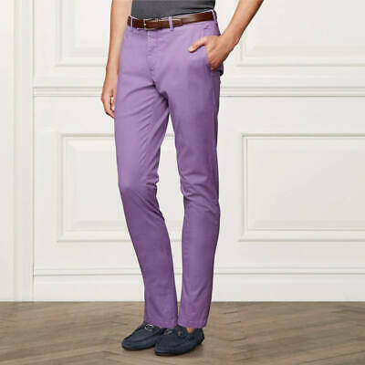"TED BAKER /""CHAADE/"" NAVY BLUE CLASSIC FIT CHINO TROUSERS BNWT UK 30 R  RRP £85"
