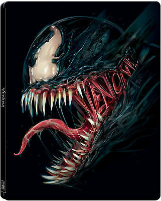 Venom Limited Edition Steelbook - 4K Ultra HD (Includes Blu-ray) new sealed