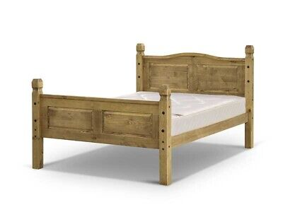 Snuggle Beds Corona - Antique Pine Wood Wooden Bed