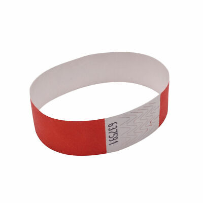 Announce Wrist Band 19mm Warm Red (Pack of 1000) AA01839