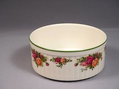 Royal Albert Old Country Roses LARGE Baking Dish Casserole England