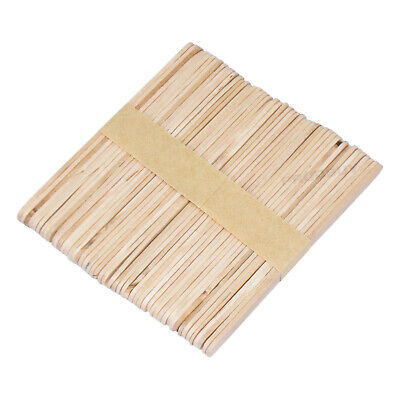 Box of 1,000 Plain Wooden Lollipop Sticks Childrens Craft Ice Lolly Mould Stick