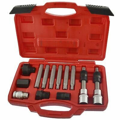 "Alternator tool set / repair / removal / pulley BOSCH 13pc kit 1/2"" Drive AN03"