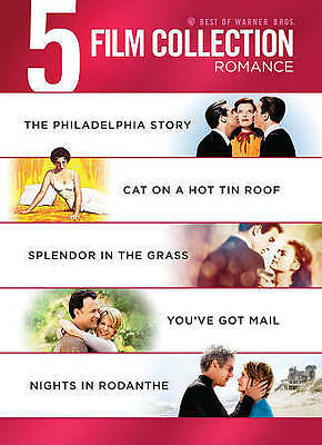 5 Film Collection - Romance (5 DVD set, 2013)  Cat on a Hot Tin Roof Brand NEW