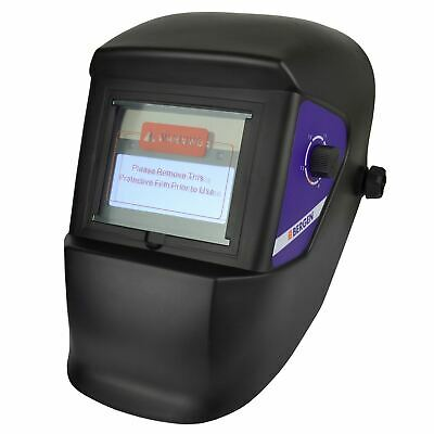 Auto Darkening Welding Helmet Mig Tig Arc Variable Shade / Grinding Mode AT874
