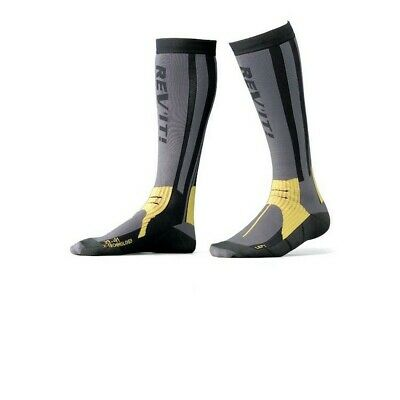 Rev'It Tour Summer Mens Socks Gray/Yellow
