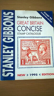 Stanley Gibbons Great Britain Concise Stamp Catalogue 1995 EXHIBITION EDITION