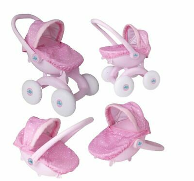 My First Pram 4 in 1 Dream Creations Activity Toy Play Pushchair