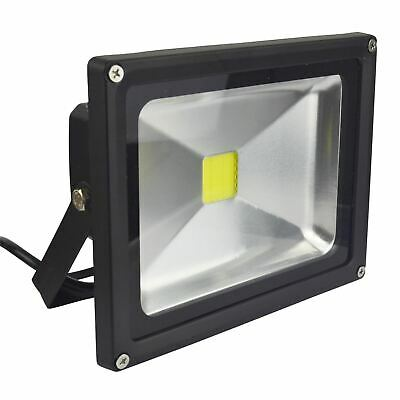 LED 20w Floodlight Security 1400 Lumen 6000k Day White Waterproof High Power E