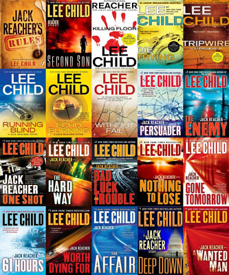 Lee Child - The Jack Reacher Complete 23+ Audiobook Series by Unabridged MP3
