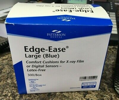 300 Dental X-Ray Comfort Cushions Large Blue Edge-Ease Patterson Dental 089-5854