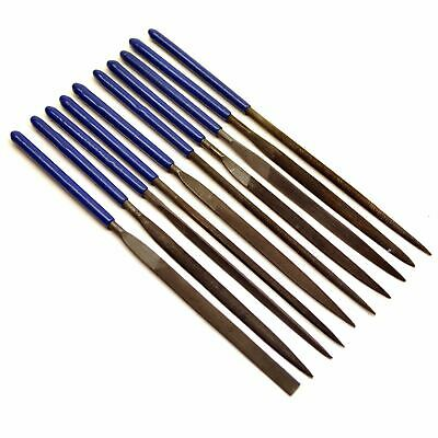 10pc Needle File Set by Silverline SIL10