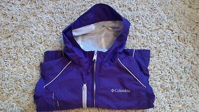 ad14a8ad6 COLUMBIA® LITTLE GIRLS' XXS(4-5), XS(6-7) Grape Gum Switchback Rain ...