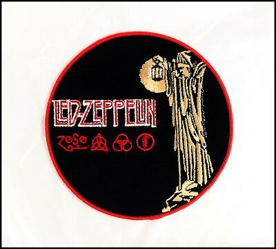 LED ZEPPELIN Vintage 80's Iron-On Patch The Hermit Jimmy Page Robert Plant