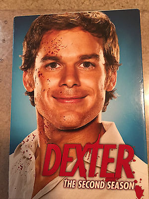 Dexter - The Complete Second Season (DVD, 2008, 4-Disc Set) GOOD