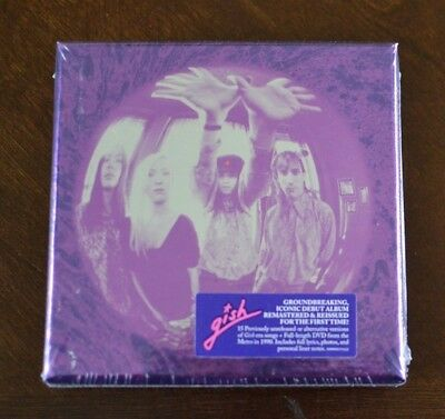 Gish [Deluxe-Edition 2 Cds + DVD] [Box] By The Smashing Pumpkins (3cds,Nov-2011)