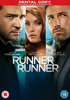 Runner Runner [DVD] - DVD  CUVG The Cheap Fast Free Post