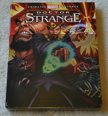 """Doctor Strange"" Blu-ray Steelbook,neu&ovp, Marvel Animated Feature, englisch"