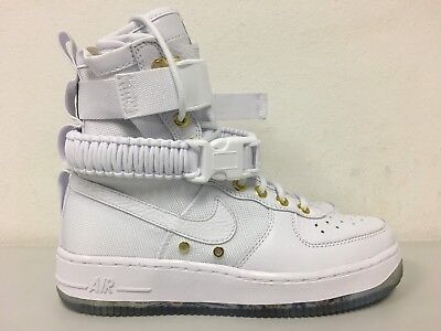 separation shoes 435db 70dcb Nike SF AF1 LNY QS Chinese Lunar New Year White Gold AO9385-100 Mens Size