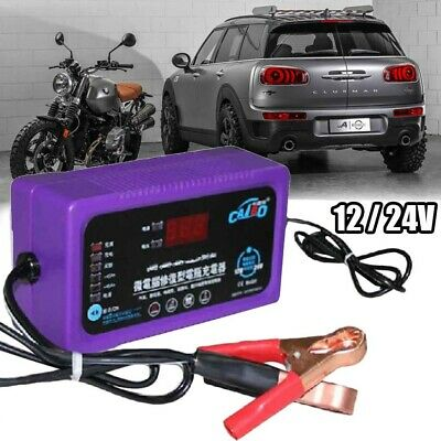6V/24v 200AH Electronic Smart Car Battery Fast Trickle Charger AGM WET ACID