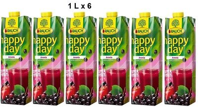 Rauch Happy Day Superfruits Aronia 1 L x 6