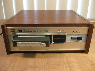 """JVC 4ED-1203 4 Channel ( QUAD ) & Stereo 8-Track Player """"Ready for Use!"""""""