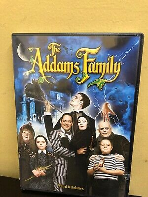 THE ADDAMS FAMILY New Sealed DVD 1991 Film