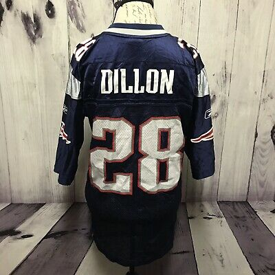 Corey Dillon New England Patriots  28 Small NFL Reebok Football Jersey (J144 ad9e34469