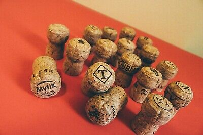 Premium Recycled Champagne Corks,- 50 Count.