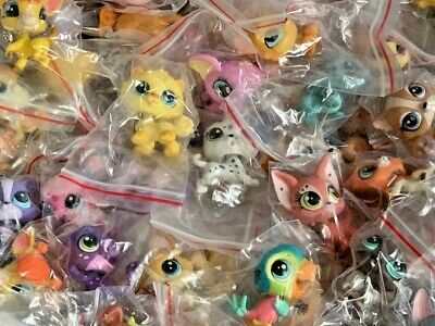 Littlest Pet Shop Mixed Lot 12 Pc Surprise Random Pet Figures Authentic LPS