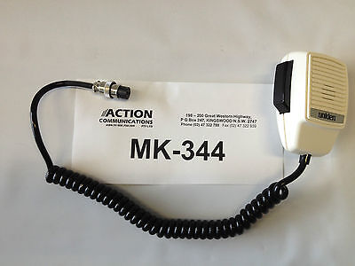 uniden microphone MK344, MK-344 Spare suits MC615 and MC610 marine radios