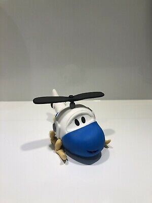 3D Helicopter Edible Cake Topper Fondant, Gum paste, Icing,