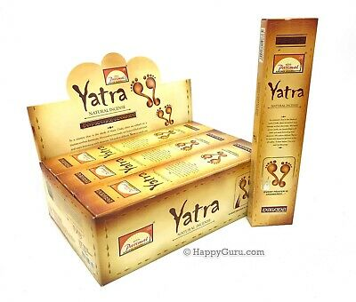 'Yatra' BULK BUY 384g Parimal Natural Incense Sticks Masala (32gx12) One Dozen ॐ