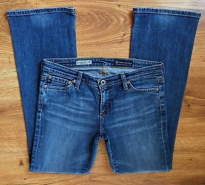 2731c9045f8 AG Adriano Goldschmied Angelina Petite Bootcut Stretch Jeans Womens Size 28  Reg