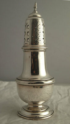 George V Solid Silver Sugar Caster - 140g - Chester 1926