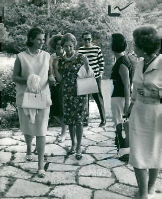 King Constantine and Queen Anne Marie Upto 1966 with Queen Ingrid Of Denmark. -