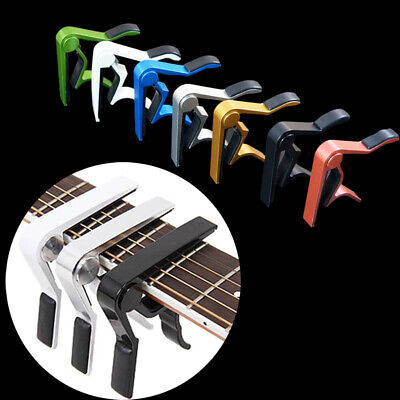 Premium Guitar Capo Key Clamp Trigger Quick Change For Electric/Classic/Acoustic