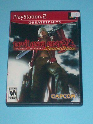 DEVIL MAY CRY 3: Dante's Awakening - Special Edition Greatest Hits (PS2)