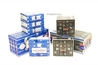 Superhit & Nag Champa Cones & Dhoop Sticks 16 Packets (8 Cone & 8 Dhoop Packets)