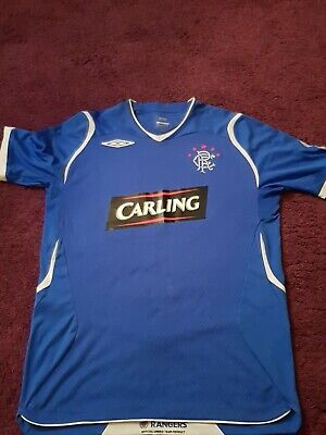 Rangers retro football shirt med Davis
