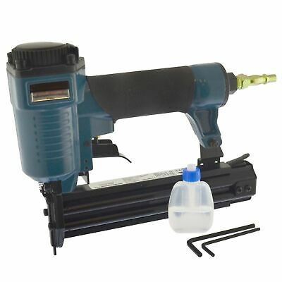 Air Brad Nailer Stapler Pin Gun Craft Hobby DIY 32mm 18 Gauge Nail Gun SIL310