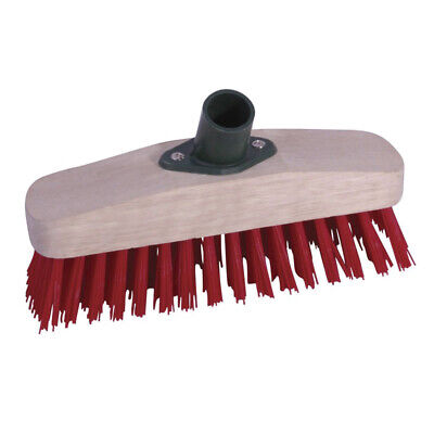 """ProDec 9"""" Synthetic Deck Scrub Head Sweeping Broom Brush (PMDS902)"""