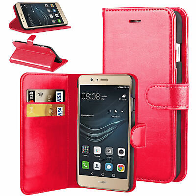 For Huawei P9 Lite Mobile Case Luxury Magnetic Wallet Leather Flip Stand Cover