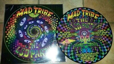 Mad Tribe - LSD Party. Rare picture disc. Signed / numbered.
